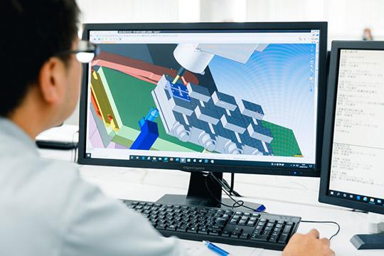 3次元CAD/CAM及びシミュレーションソフトの活用 2