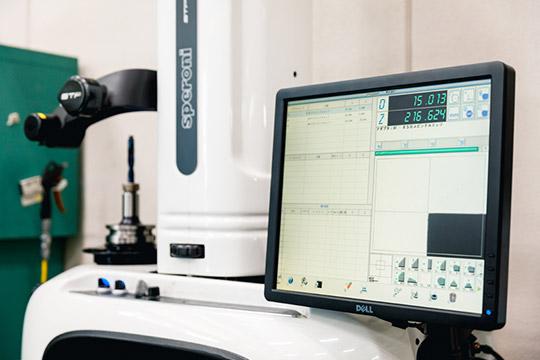 工具長測定データもシステムに自動登録